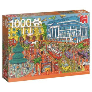 Piccadilly Circus, London - 1000 Teile Puzzle