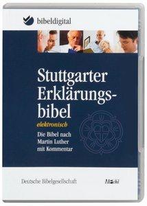 Stuttgarter Erklärungsbibel. CD-ROM für Windows 98/ME/NT/2000/XP