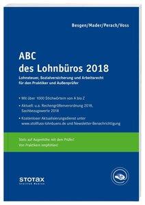 ABC des Lohnbüros 2018, mit Buch, mit Online-Zugang