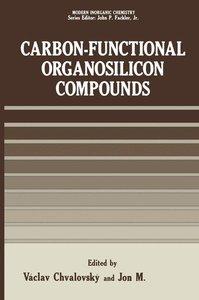 Carbon-Functional Organosilicon Compounds