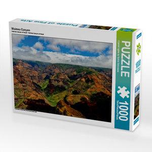 Waimea Canyon 1000 Teile Puzzle quer