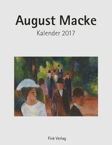 August Macke 2017. Kunstkarten-Einsteckkalender