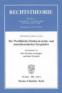 Der Westfälische Frieden in rechts- und staatstheoretischer Pers