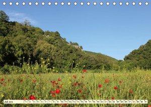 Frühling in den Bergen von Istrien (Tischkalender 2019 DIN A5 qu