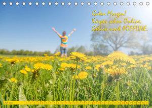 #OFFLINE (Tischkalender 2020 DIN A5 quer)