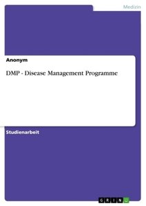 DMP - Disease Management Programme