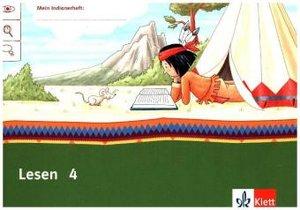 Mein Indianerheft. Lesen. Arbeitsheft Klasse 4 (5-er Paket)