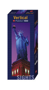 Verticalpuzzle Sights Statue of Liberty 1000 Teile