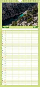 Cassis und die Calanques - Familienplaner hoch (Wandkalender 202