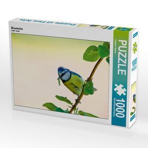 Blaumeise 1000 Teile Puzzle quer
