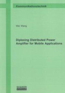 Diplexing Distributed Power Amplifier for Mobile Applications