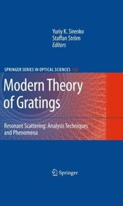 Modern Theory of Gratings