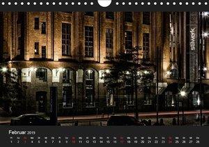 HAMBURG - NIGHTFLIGHT (Wandkalender 2019 DIN A4 quer)