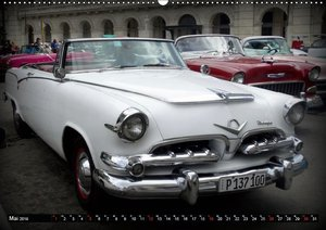 Ganz in Weiß - Elegante Oldtimer auf Kuba (Wandkalender 2019 DIN