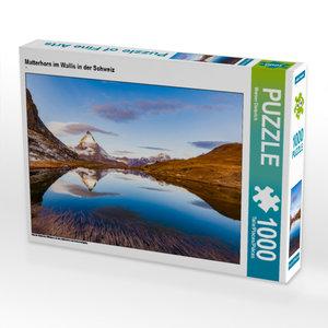 CALVENDO Puzzle Matterhorn im Wallis in der Schweiz 1000 Teile L