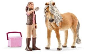Schleich 41431 Pferd mit Pflegerin