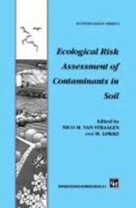 Ecological Risk Assessment of Contaminants in Soil