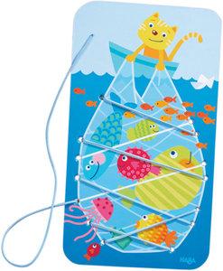 Fädelspiel Fischfang