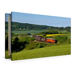 Premium Textil-Leinwand 90 cm x 60 cm quer 750 308 und 750 277 m