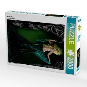 Grüne Fee 2000 Teile Puzzle hoch