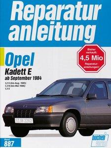 Opel Kadett E 1,2 S (bis August 1985) / 1,3 N (bis Mai 1986) ab