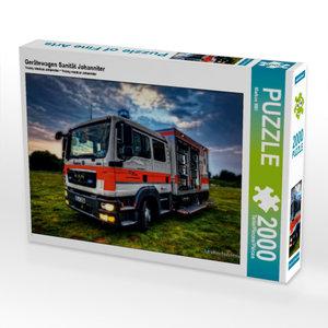 Gerätewagen Sanität Johanniter 2000 Teile Puzzle quer