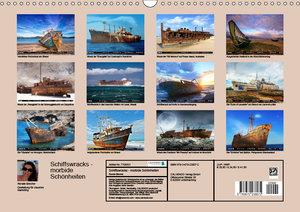 Schiffswracks - morbide Schönheiten