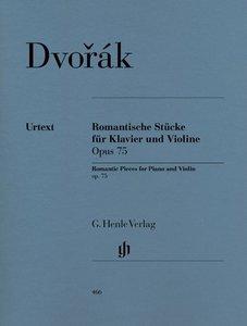 Romantische Stücke für Klavier und Violine Opus 75