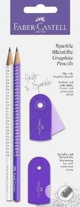 Faber-Castell Schreibset Sparkle pearl lila/weiß BK