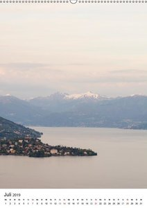 Lago Maggiore - Das Westufer (Wandkalender 2019 DIN A2 hoch)