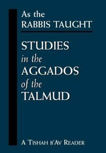 As the Rabbis Taught
