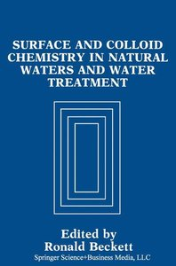 Surface and Colloid Chemistry in Natural Waters and Water Treatm