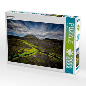 CALVENDO Puzzle Lebenslinien 2000 Teile Lege-Größe 90 x 67 cm Fo