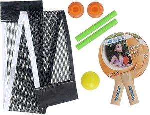 Donic Schildkröt 788435 - Tischtennis-Set Mini, 2er Set mit Netz