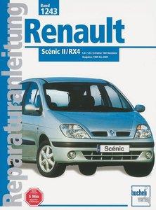 Renault Scenic II/RX4 1.4-/1.6-/2.0-Liter 16 V Benziner ab Bauja