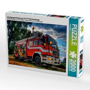 Löschgruppenfahrzeug 16/12 FF BS-Hondelage 2000 Teile Puzzle que