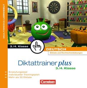 Diktattrainer Plus 3./4. Klasse. Für Windows Vista/XP/2000