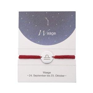 Sternzeichen Armband - Waage