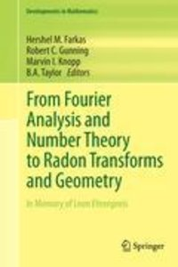 From Fourier Analysis and Number Theory to Radon Transforms and
