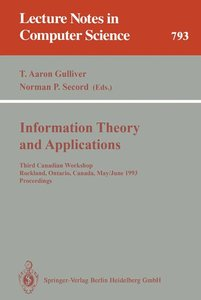 Information Theory and Applications