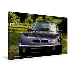Premium Textil-Leinwand 75 cm x 50 cm quer Opel GT