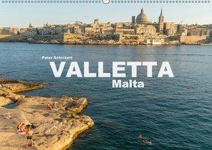 Valletta - Malta (Wandkalender 2018 DIN A2 quer)