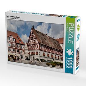 Brot - und Tanzhaus 1000 Teile Puzzle quer