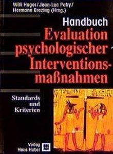 Evaluation psychologischer Interventionsmaßnahmen