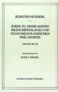 Ideen zu einer reinen Phänomenologie und phänomenologischen Phil