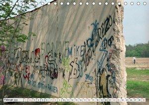 30 Jahre Mauerfall Berlin (Tischkalender 2020 DIN A5 quer)