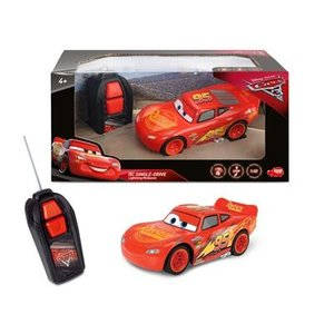 Dickie 203081000 - Disney Cars 3 - Lightning McQueen Single Driv