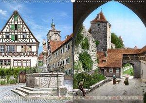 Rothenburg ob der Tauber um das Jahr 1900 - Fotos neu restaurier
