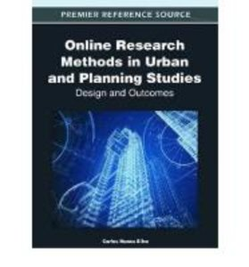 Online Research Methods in Urban and Planning Studies: Design an