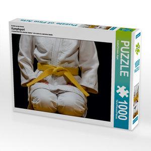 Ein Motiv aus dem Kalender Kampfsport 1000 Teile Puzzle quer